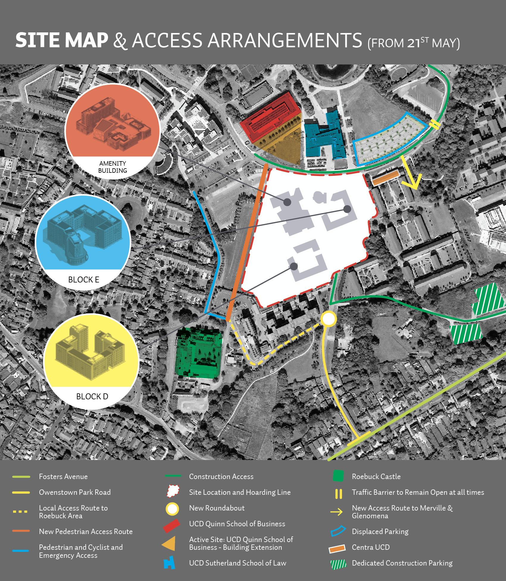 Construction Site Map: Studentresconstruction