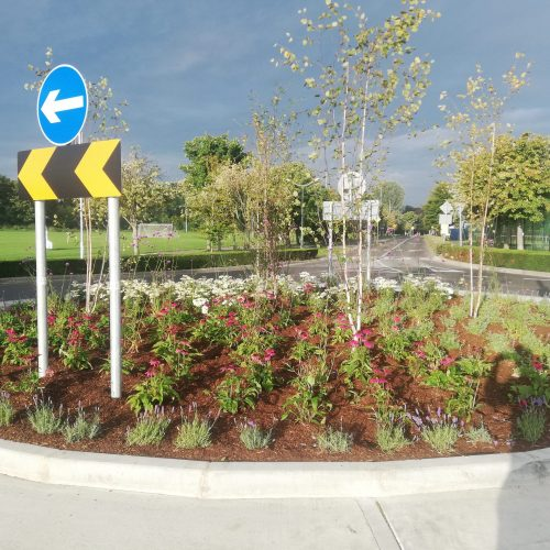 Clonskeagh Entrance Road & Roundabout Upgrade Works